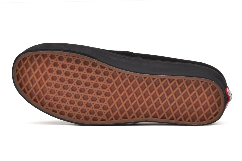 Sneaker Vans Authentic schwarz ansicht von oben