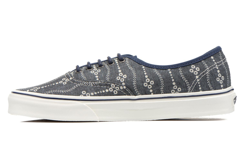 Sneaker Vans Authentic blau ansicht von vorne