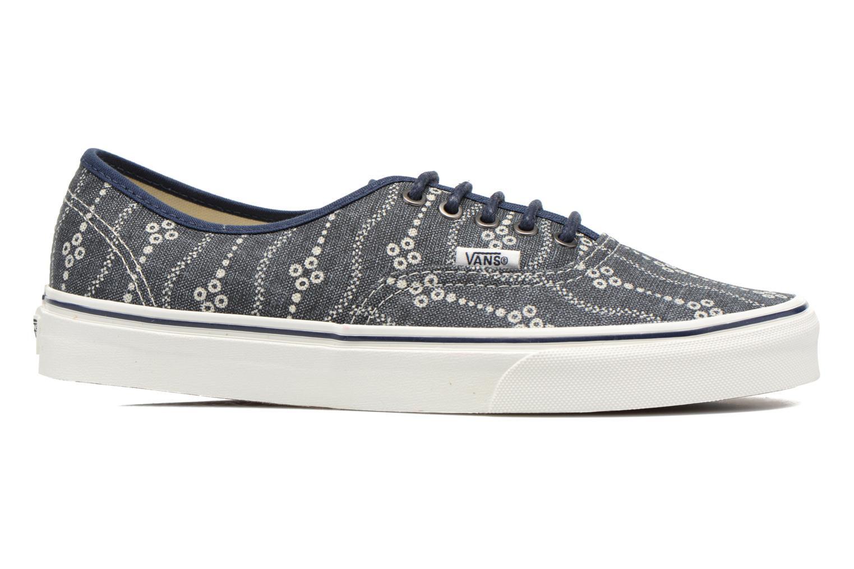 Sneakers Vans Authentic Blauw achterkant