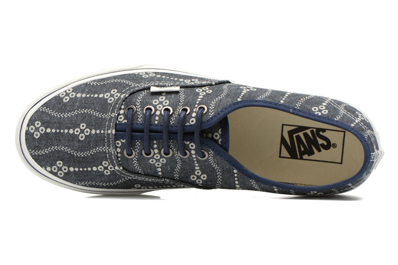 Sneaker Vans Authentic blau ansicht von links