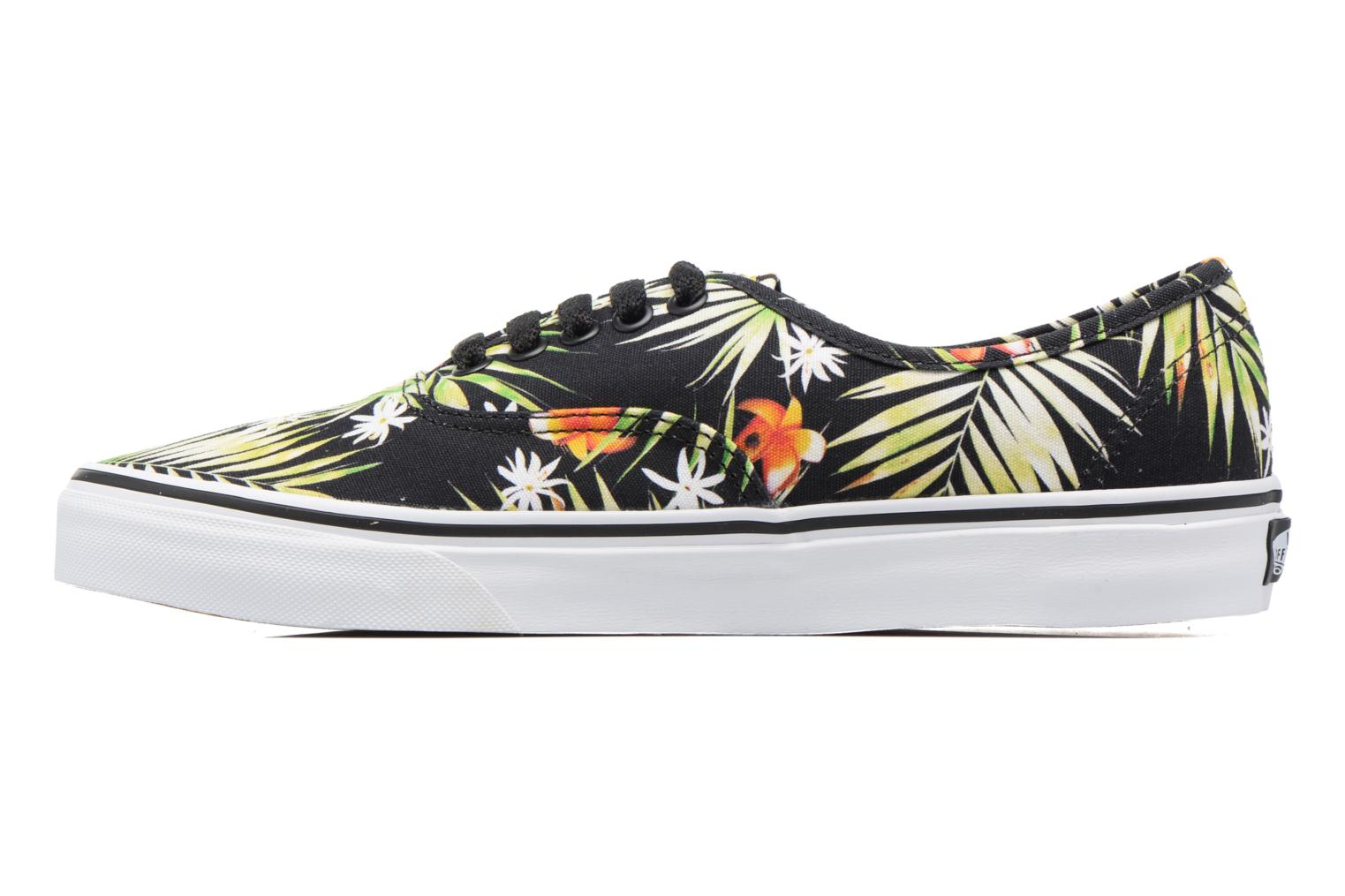 Deportivas Vans Authentic Negro vista de frente