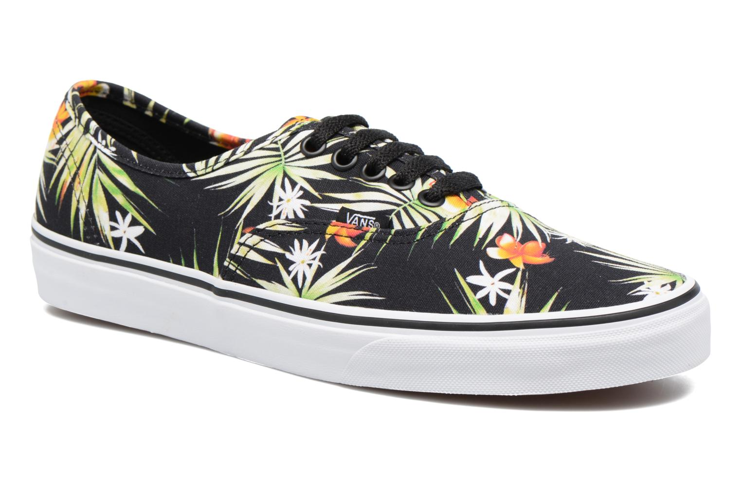 Trainers Vans Authentic Black detailed view/ Pair view