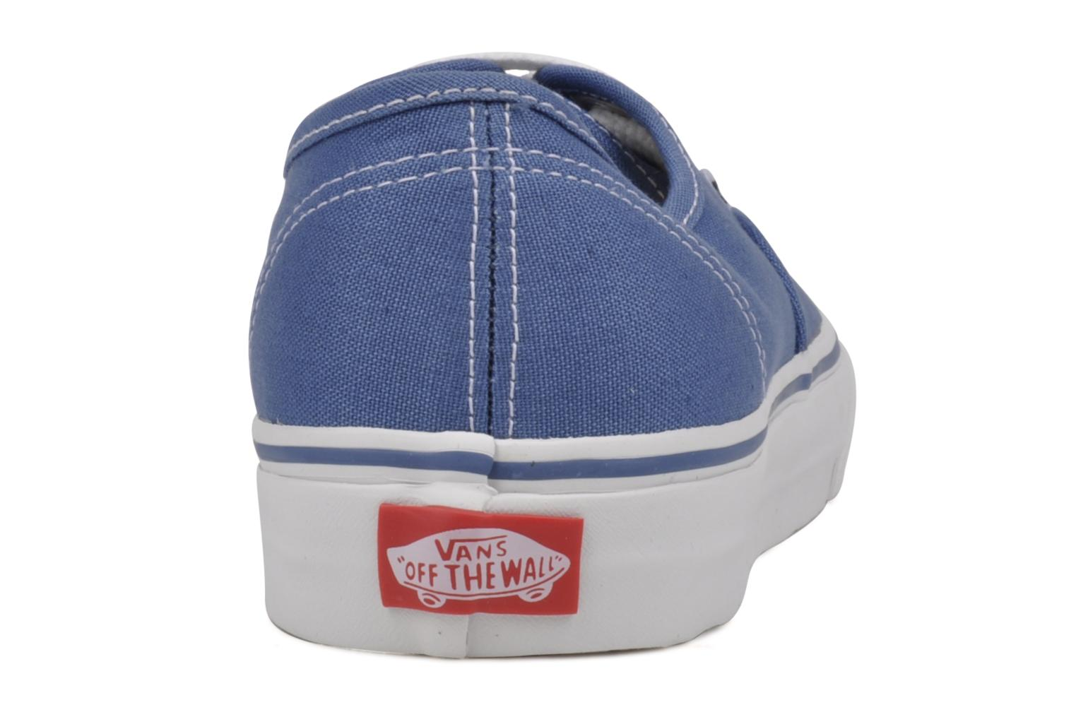 Trainers Vans Authentic Blue view from the right