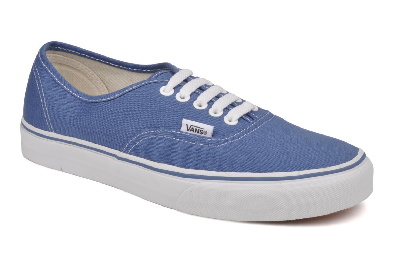 Baskets Vans Authentic Bleu vue détail/paire
