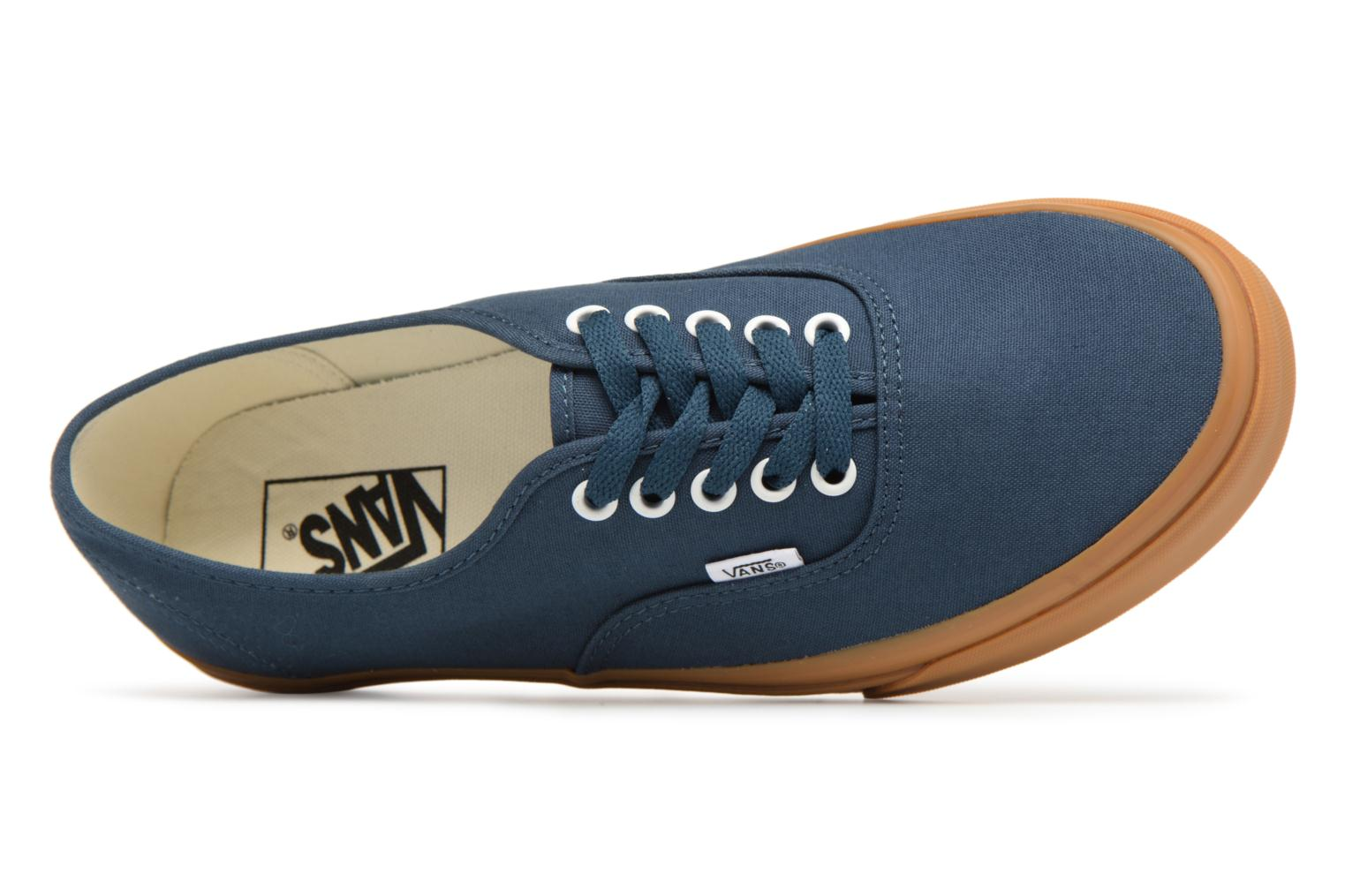 Sneaker Vans Authentic blau ansicht von links