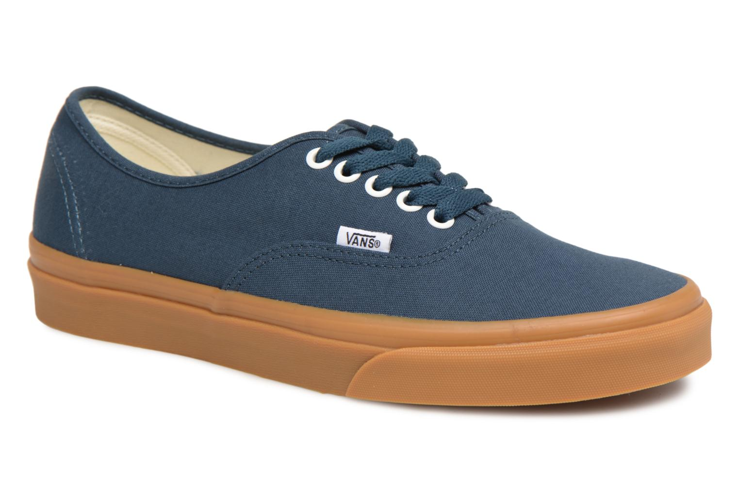 Trainers Vans Authentic Blue detailed view/ Pair view