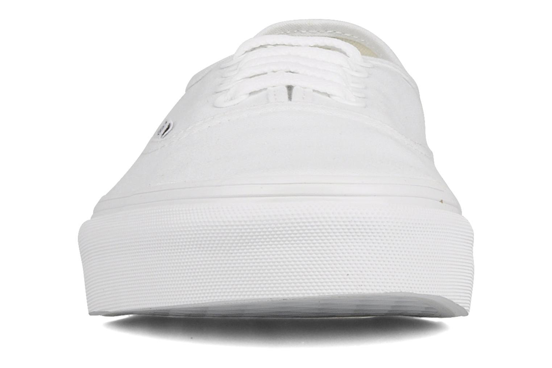 Sneaker Vans Authentic weiß schuhe getragen