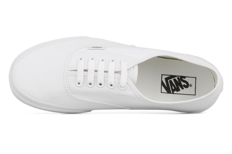 Sneakers Vans Authentic Vit bild från vänster sidan