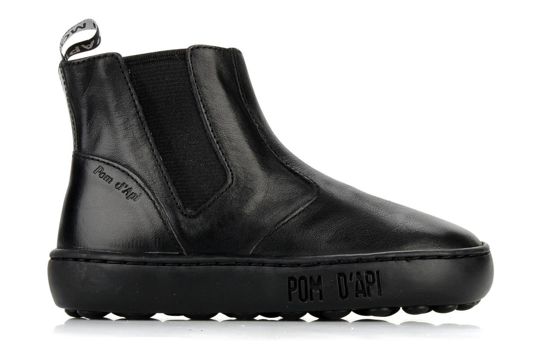 Boots en enkellaarsjes Pom d Api Walk Jodpur Basic Zwart achterkant