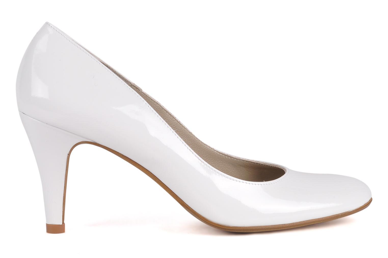 Zapatos de tacón Perlato Lucie Blanco vistra trasera