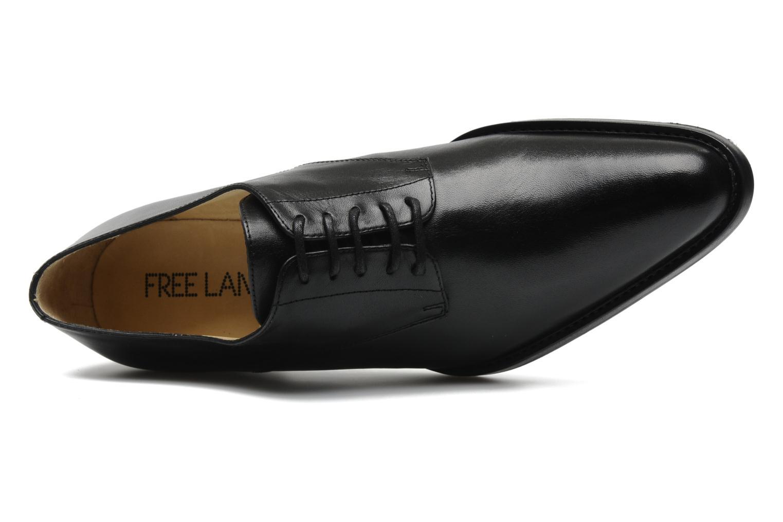 Chaussures à lacets Free Lance Queenie 4 Derby Noir vue gauche