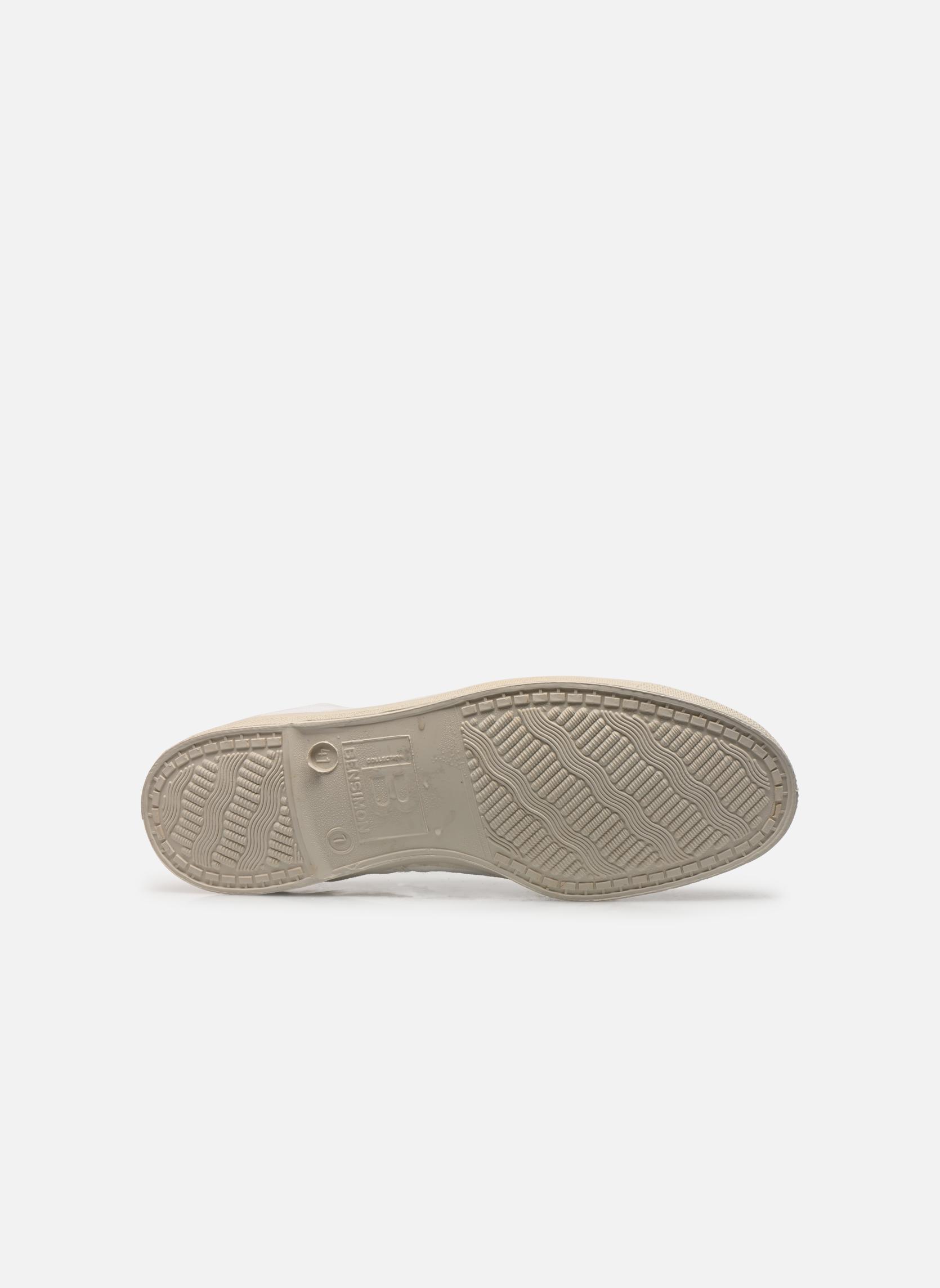 Sneakers Bensimon Tennis Lacets H Vit bild från ovan