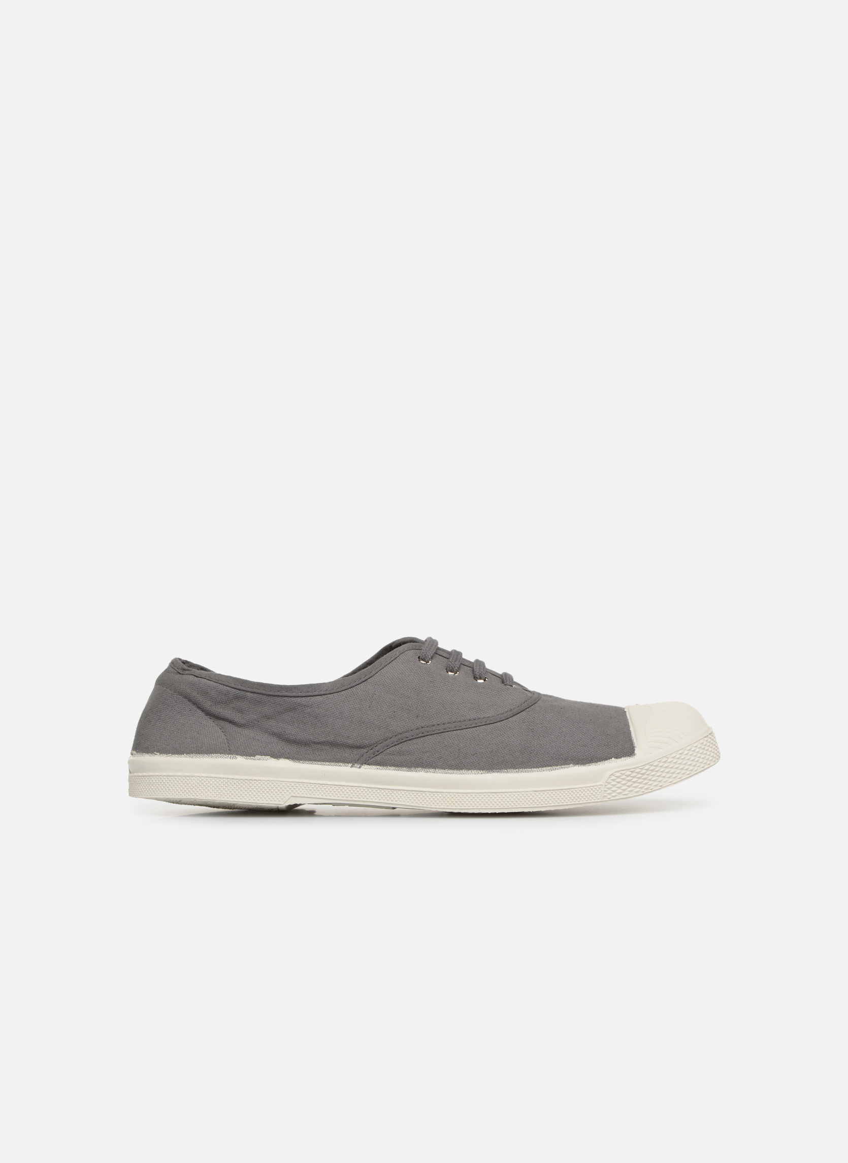Trainers Bensimon Tennis Lacets H Grey back view