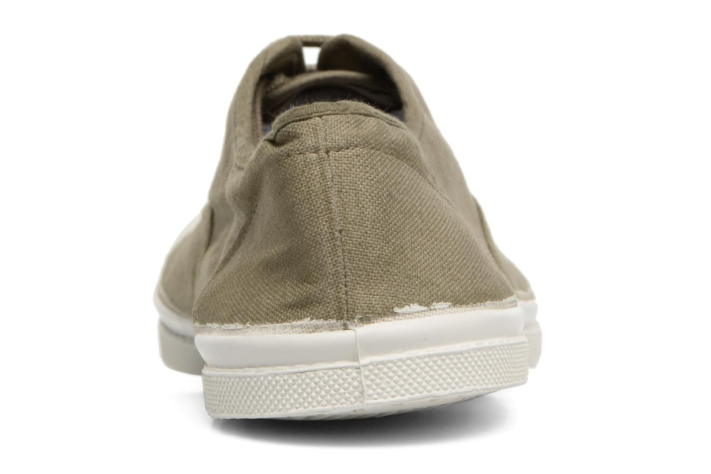 Sneakers Bensimon Tennis Lacets H Groen rechts