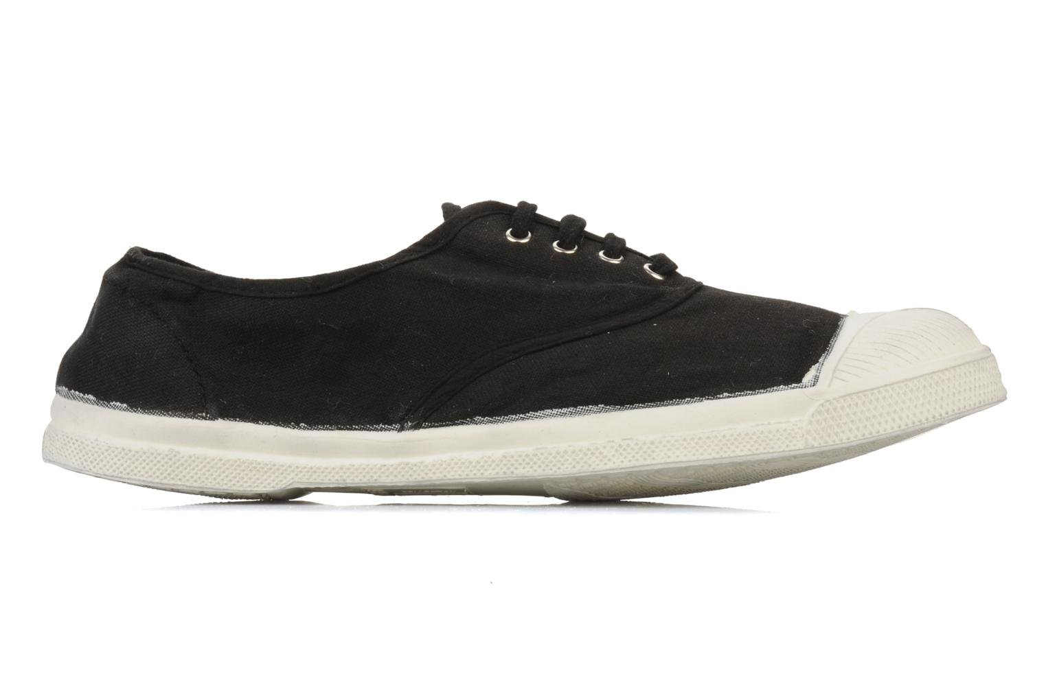 Trainers Bensimon Tennis Lacets H Black back view