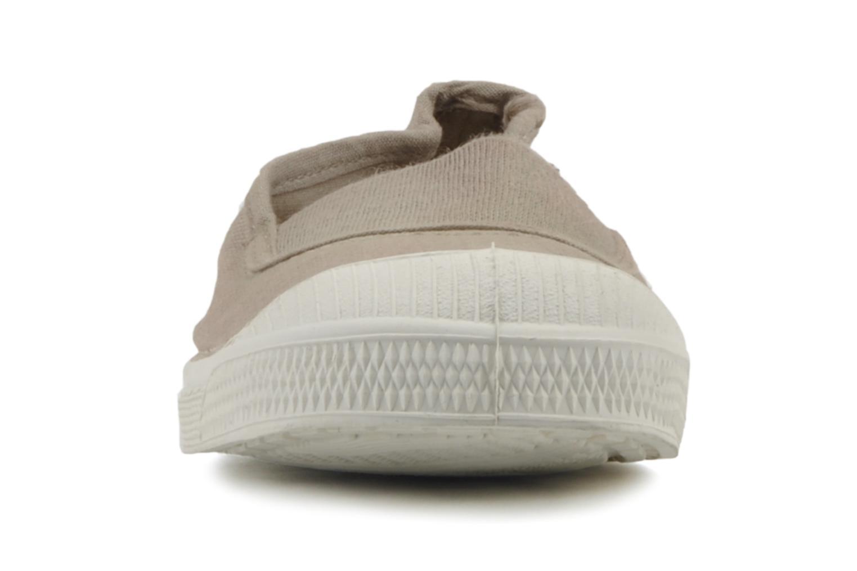 Sneaker Bensimon Tennis Elastique E beige schuhe getragen