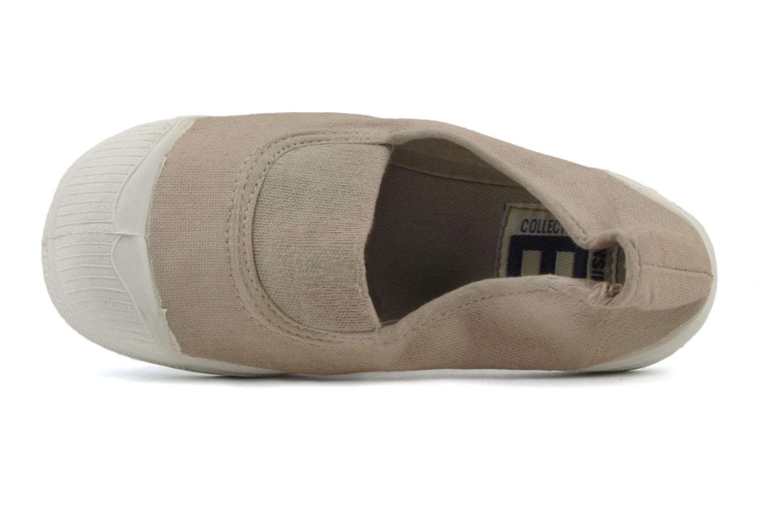 Trainers Bensimon Tennis Elastique E Beige view from the left