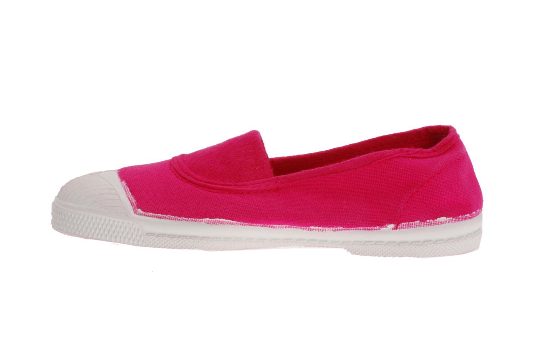 Sneaker Bensimon Tennis Elastique E rosa ansicht von vorne