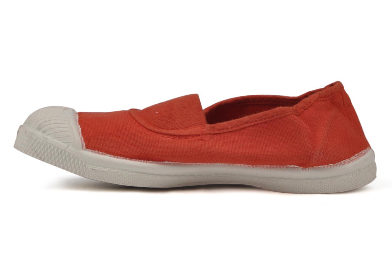 Sneaker Bensimon Tennis Elastique E rot ansicht von vorne