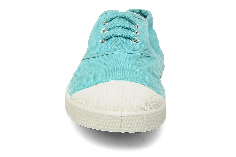 Sneakers Bensimon Tennis Lacets E Blå bild av skorna på