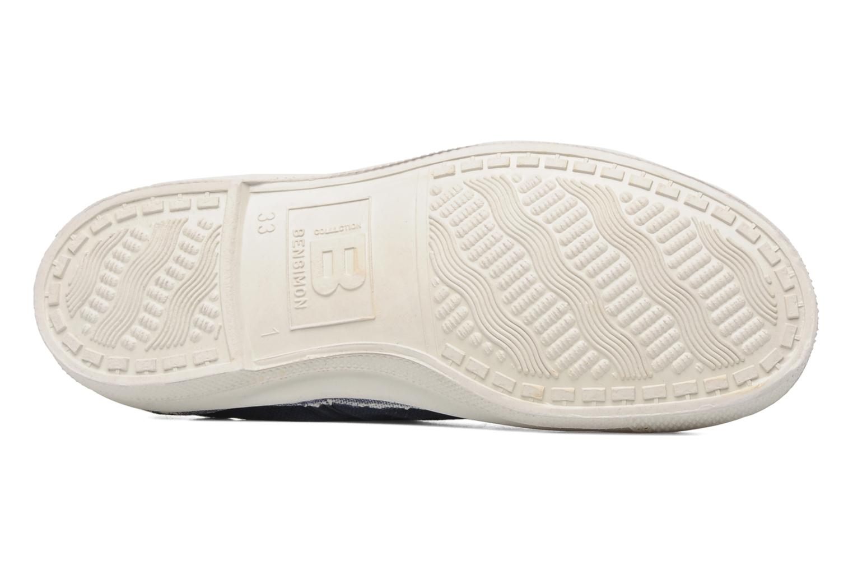 Sneakers Bensimon Tennis Lacets E Blå bild från ovan