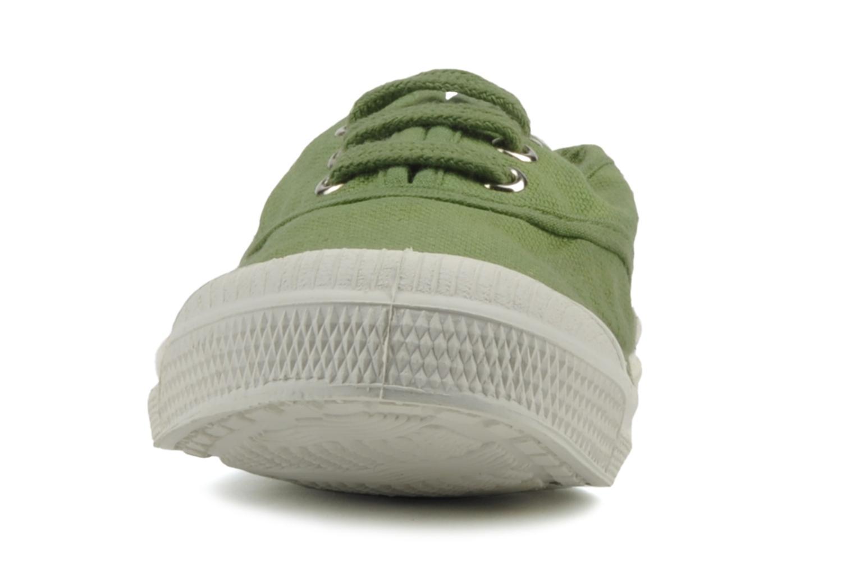 Sneakers Bensimon Tennis Lacets E Grön bild av skorna på