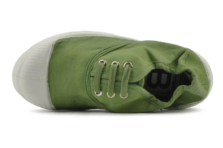 Sneakers Bensimon Tennis Lacets E Grøn se fra venstre