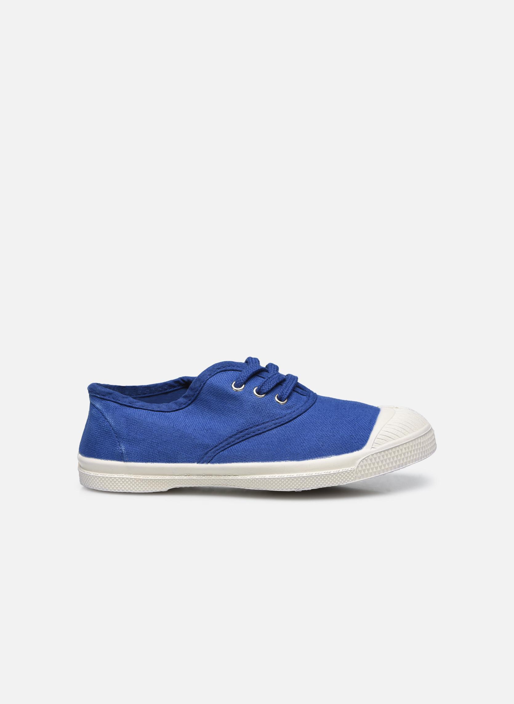 Tennis Lacets E Bleu Vif
