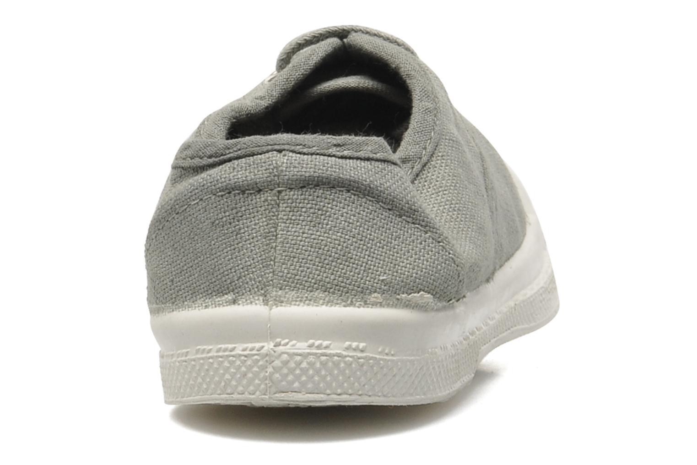 Sneaker Bensimon Tennis Lacets E grau ansicht von rechts