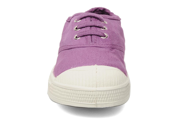 Sneaker Bensimon Tennis Lacets E lila schuhe getragen