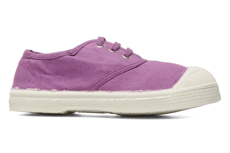 Sneaker Bensimon Tennis Lacets E lila ansicht von hinten