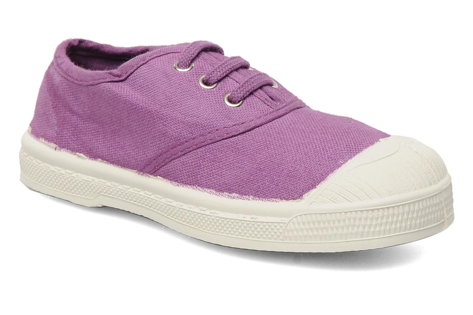 Trainers Bensimon Tennis Lacets E Purple detailed view/ Pair view