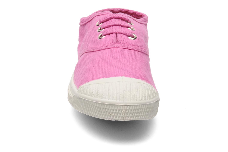 Sneakers Bensimon Tennis Lacets E Rosa bild av skorna på