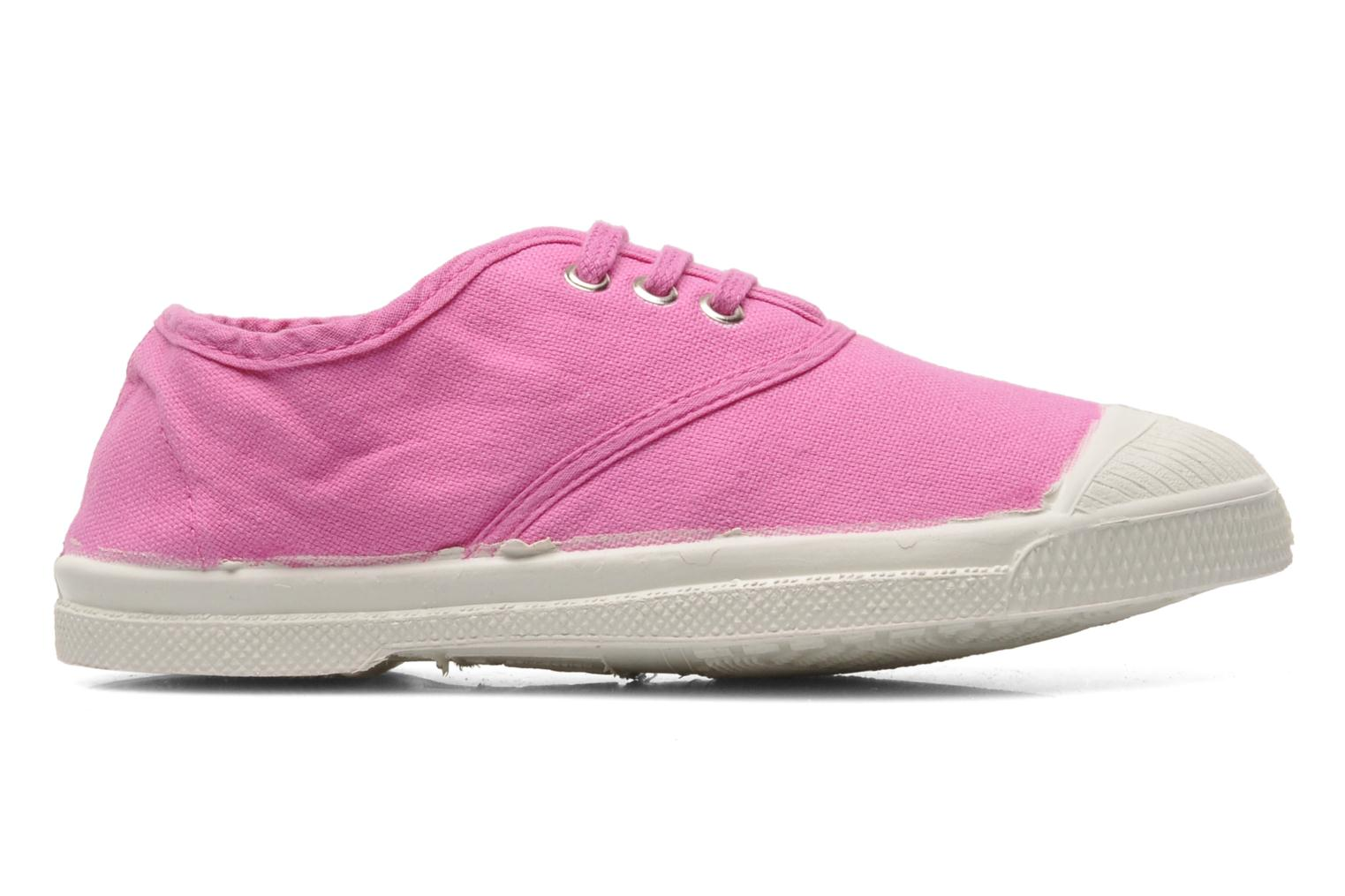Trainers Bensimon Tennis Lacets E Pink back view