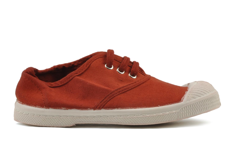 Sneaker Bensimon Tennis Lacets E rot ansicht von hinten