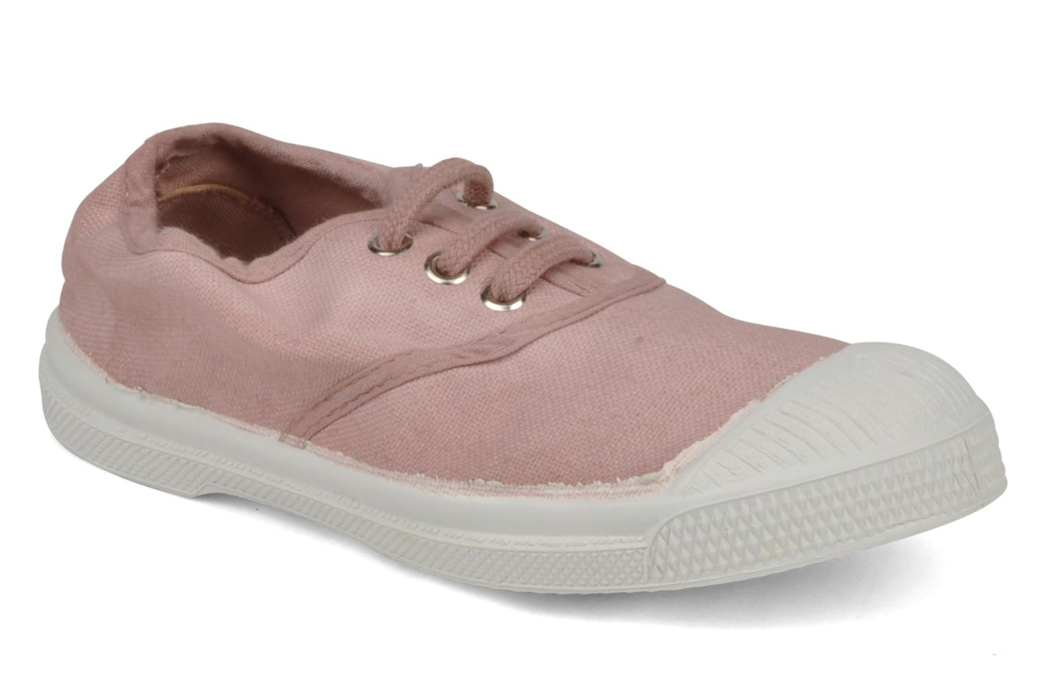 Trainers Bensimon Tennis Lacets E Pink detailed view/ Pair view