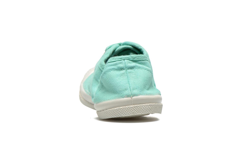 Sneakers Bensimon Tennis Lacets E Blå Bild från höger sidan