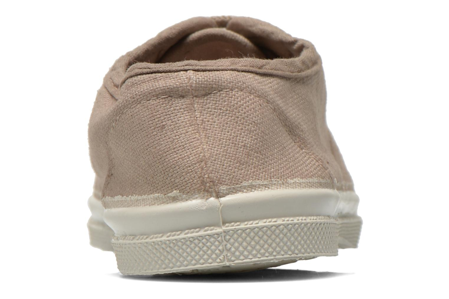 Trainers Bensimon Tennis Lacets E Beige view from the right