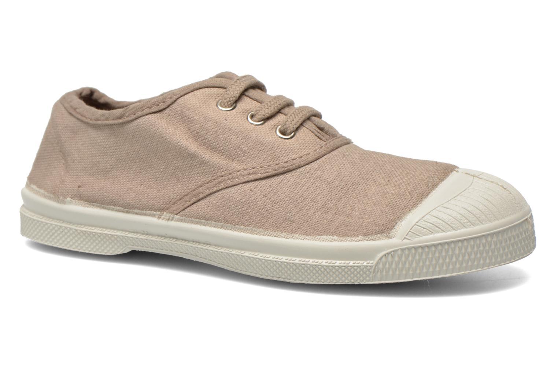 Sneakers Bensimon Tennis Lacets E Beige detail