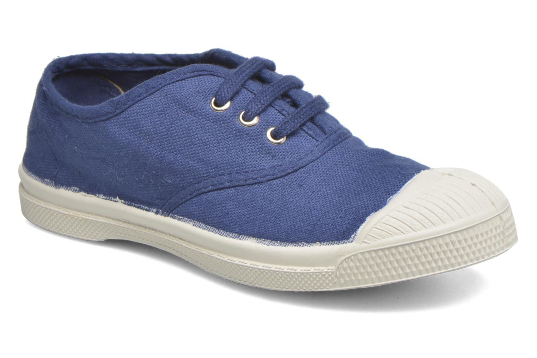 Sneakers Bensimon Tennis Lacets E Blå detaljerad bild på paret