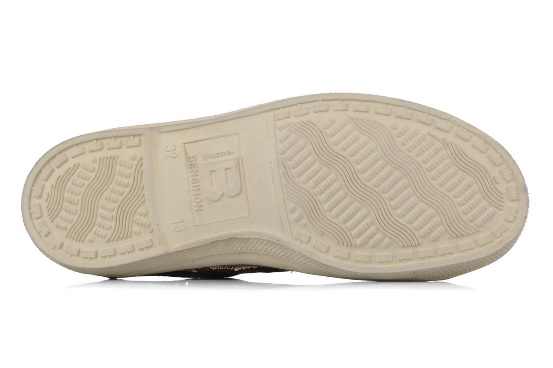 Sneakers Bensimon Tennis Lacets E Bruin boven