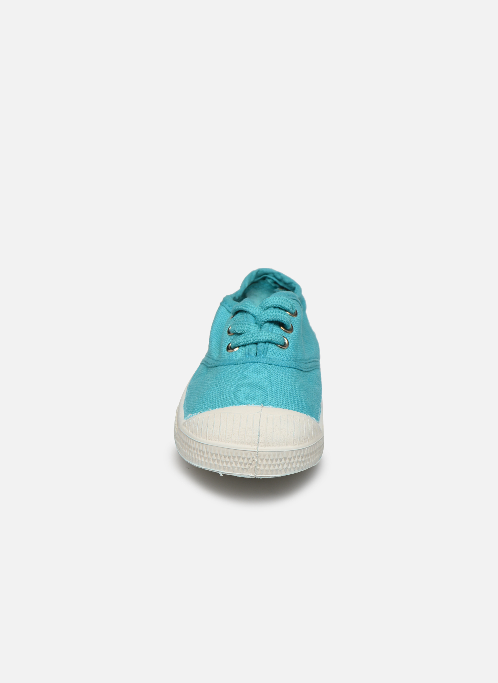 Deportivas Bensimon Tennis Lacets E Azul vista del modelo