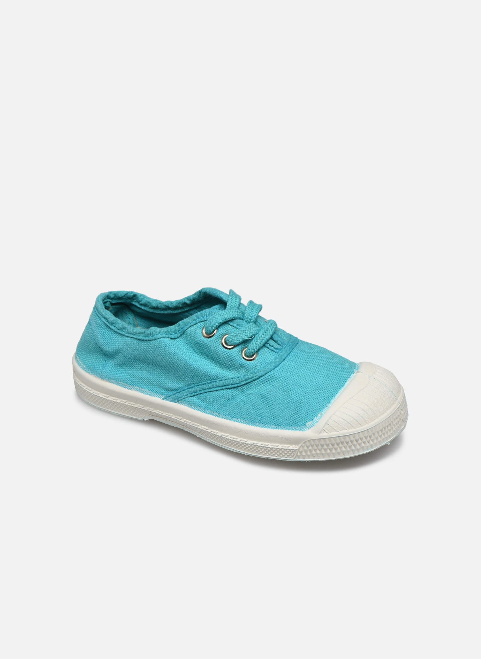 Tennis Lacets E Turquoise 2