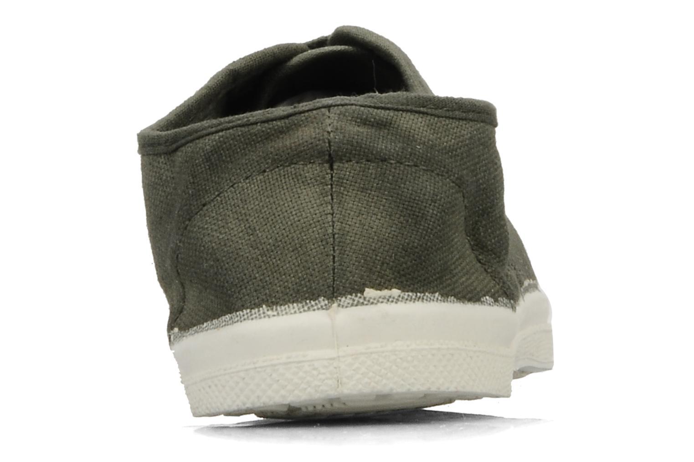 Sneakers Bensimon Tennis Lacets E Groen rechts