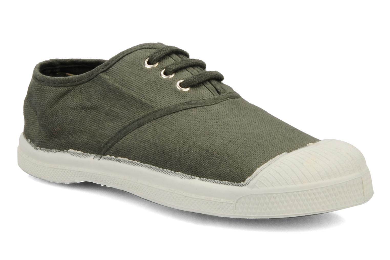 Sneaker Bensimon Tennis Lacets E grün detaillierte ansicht/modell