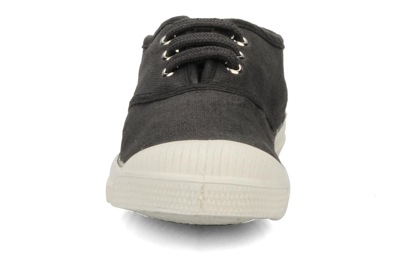Trainers Bensimon Tennis Lacets E Black model view