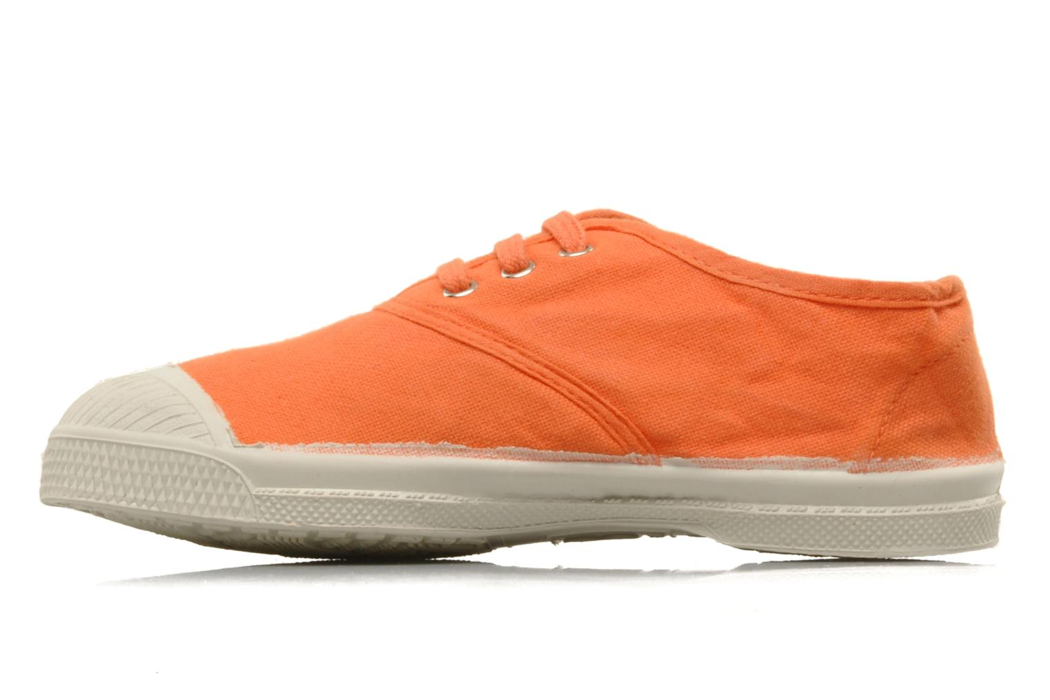 Sneakers Bensimon Tennis Lacets E Orange bild från framsidan