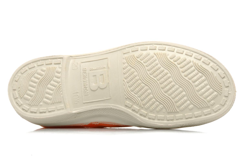Sneaker Bensimon Tennis Lacets E orange ansicht von oben
