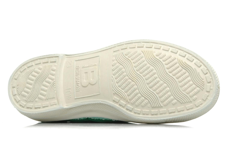 Sneaker Bensimon Tennis Lacets E grün ansicht von oben