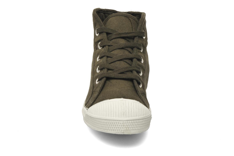 Sneaker Bensimon Tennis Mid E grün schuhe getragen